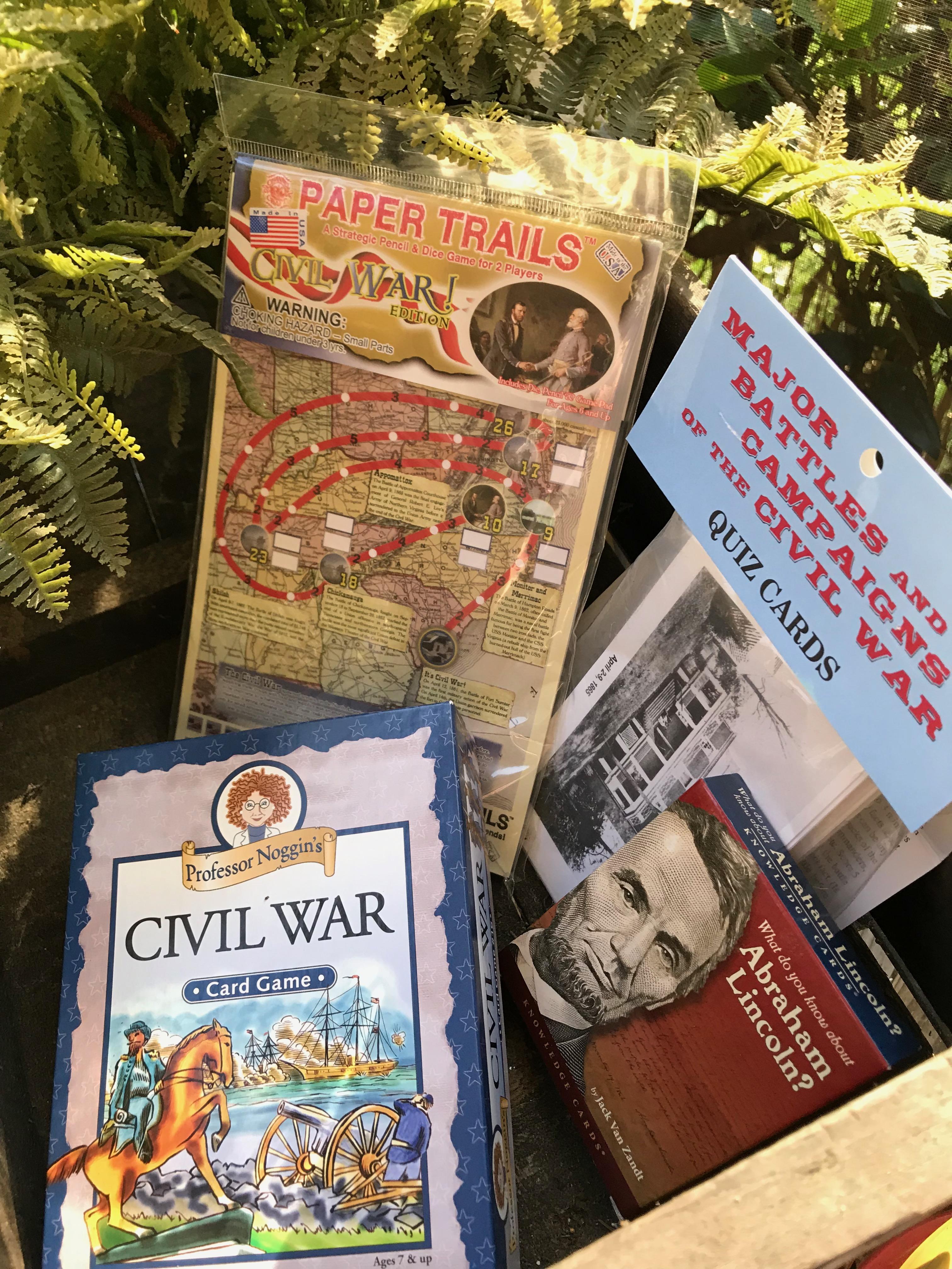Games that teach the Civil War