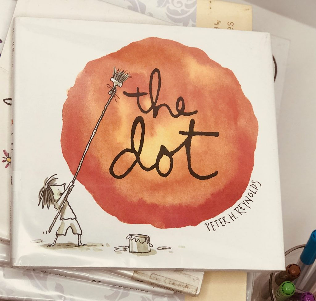 The Dot book cover Story book art