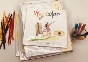 Sky Color book coverpicture books about art and creativity