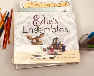 Edie's Ensembles book picture books about art and creativity