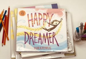 Happy Dreamer book cover picture books about art and creativity