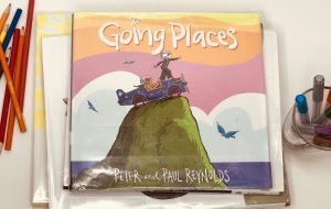 Going Places book cover picture books about art and creativity