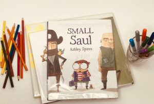 Small Saul book picture books about art and creativity