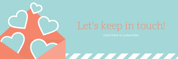 Let's Keep in touch graphic