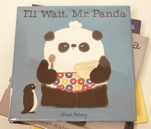 Panda books and crafts