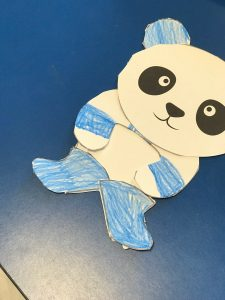 Mr Panda book craft project