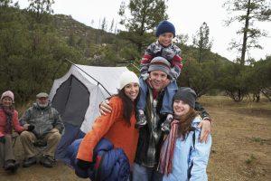 famliy camp site triumph