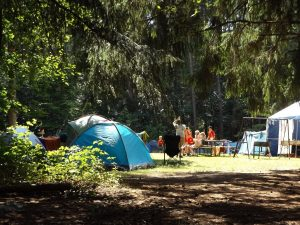family camp site