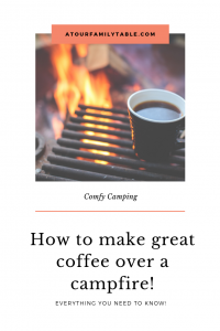 How to make campfire coffee